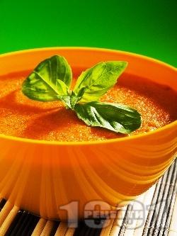 Африканска доматена супа с грис и кимион - снимка на рецептата
